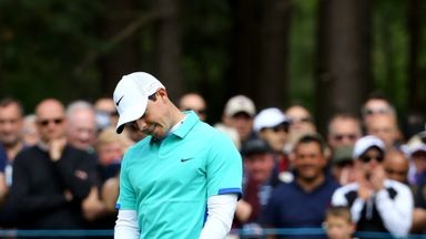 Rory McIlroy: Didn't drive the ball anywhere near as well as he can