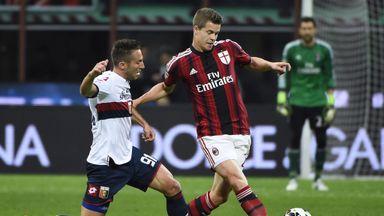 Marco Van Ginkel: Has impressed AC Milan boss