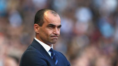 Roberto Martinez is pleased to have Leighton Baines and Bryan Ovideo back