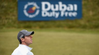Rory McIlroy: Taking a week off after a five tournament stretch.