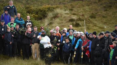 Rory McIlroy: Unable to recover from his opening round 80