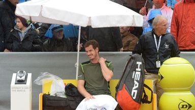 Andy Murray: Preparing to face Philipp Kohlschreiber in Munich final