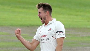 Tom Bailey: Five wickets for Lancashire seamer