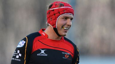 Tyler Morgan: Newport Gwent Dragons centre set to feature in Wales squad