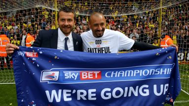 Heurelho Gomes (right): Feeling good at Watford