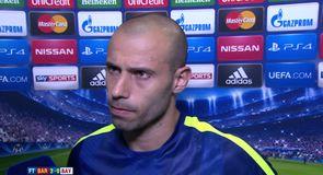 Mascherano hails magic Messi