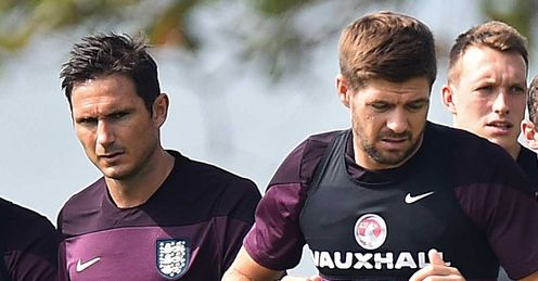 Frank Lampard and Steven Gerrard: Midfield duo play their final Premier League games this weekend