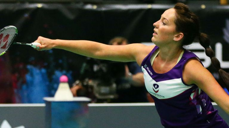 Jenny Wallwork: Proud of helping National Badminton League on the map (Photo: NBL)