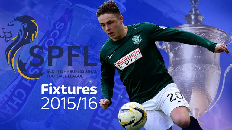 Scottish Football Fixtures