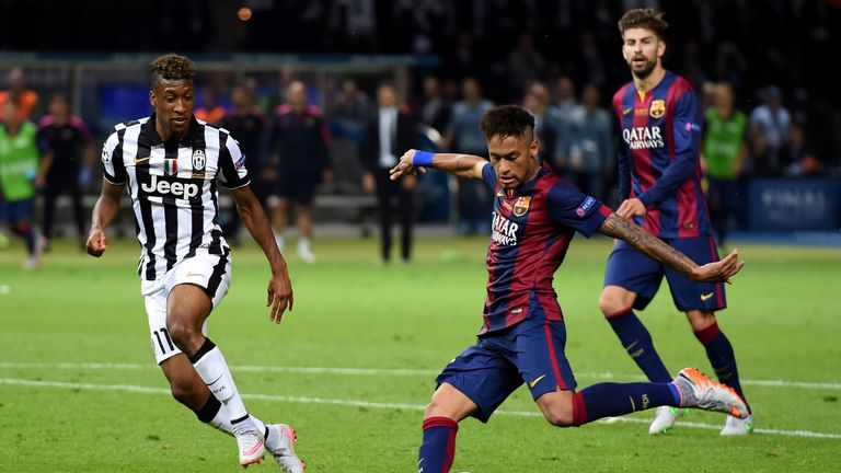 Barcelona beat Juventus in the 2015 final