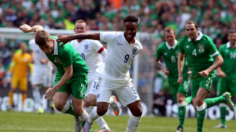 Raheem Sterling was booed by sections of England's supporters during their 0-0 draw with Republic of Ireland