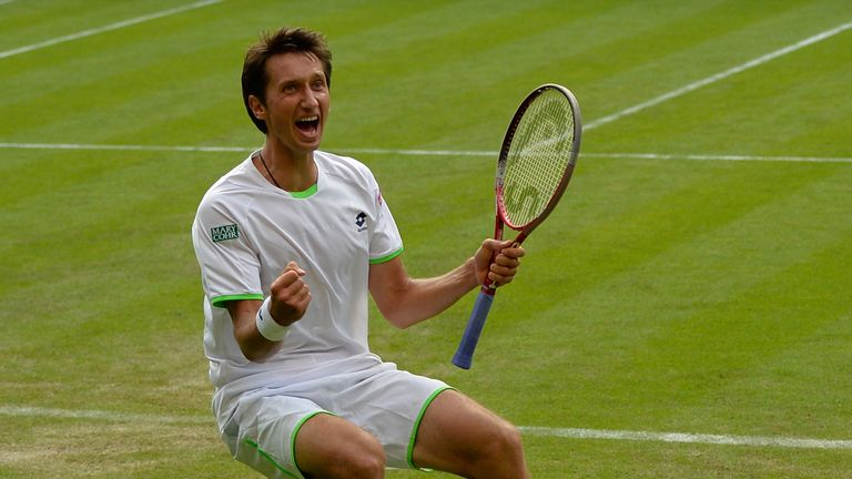 Sergiy Stakhovsky knocked out defending champion Roger Federer