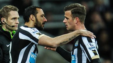 Ryan Taylor (right) is a free agent after leaving Newcastle.