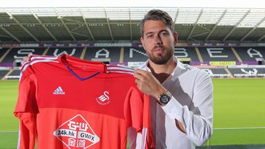 Swansea sign Sweden goalkeeper Kristoffer Nordfeldt. (Photo: Swansea City)