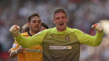 Adam Smith: Goalkeeper who was sacked by Leicester City last month has signed for Northampton Town