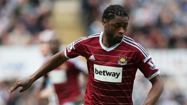 Alex Song played 28 times for West Ham in the Premier League last season