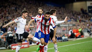 Arda Turan looks likely to leave Atletico Madrid this summer