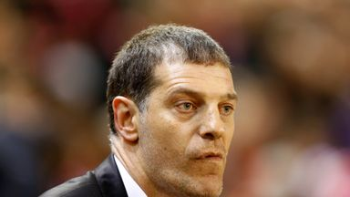Slaven Bilic: Won't be on the bench on Thursday