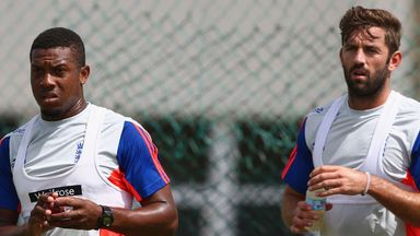Chris Jordan and Liam Plunkett: England bowlers sidelined with injuries