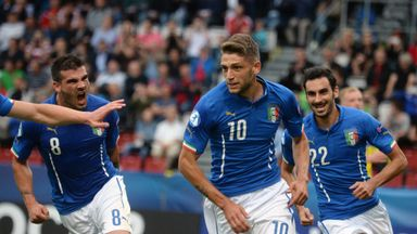 Domenico Berardi: Italy Under-21s star man scored 15 goals for Sassuolo last season