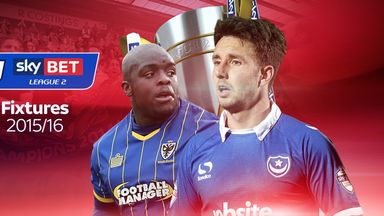 Portsmouth start out at home to Dagenham while Wimbledon will host Plymouth