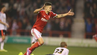 Jamie Paterson is to swap Nottingham Forest for Huddersfield