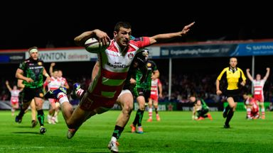Jonny May: A high-flier for Gloucester in last season's competition