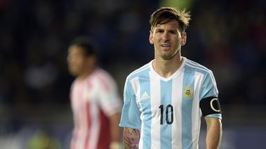Lionel Messi is one booking away from a suspension in the Copa America.