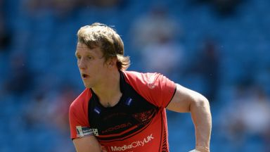 Logan Tomkins: Set for a second spell with Salford