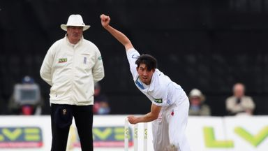 Mark Footitt: Derbyshire seamer is in the England training squad for the Ashes