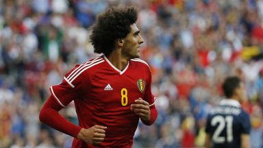 Marouane Fellaini: Midfielder is out injured for Belgium