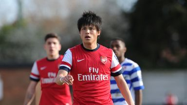 Ryo Miyaichi spent the majority of his Arsenal career out on loan