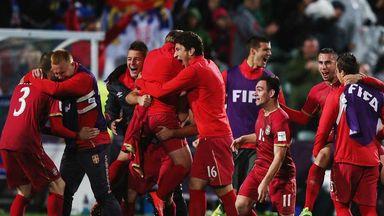 Serbia U20: World champions begin their celebrations