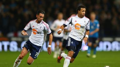 Tyrone Mears (right) in action for Bolton