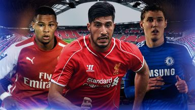 Serge Gnabry, Emre Can and Andreas Christensen are in U21 action this summer