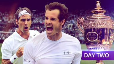 Wimbledon day two