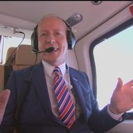 Jim White will be in his helicopter again for 92Live.