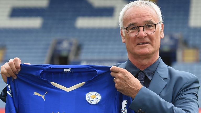 Claudio Ranieri is unveiled as Leicester manager... cue mass predictions of relegation