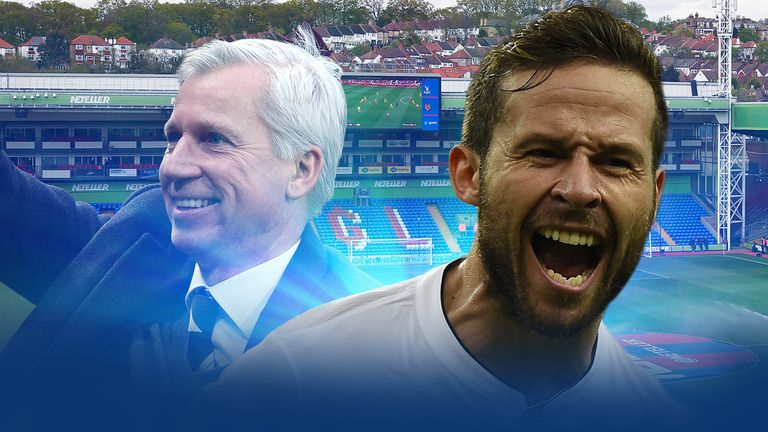 Pardew: snapped up Cabaye this summer
