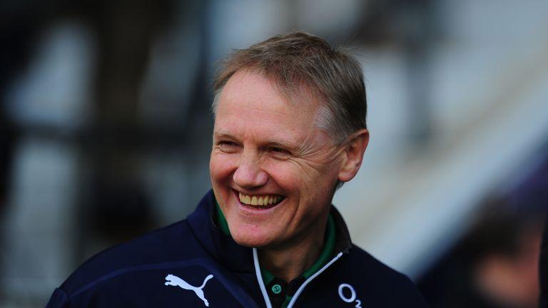 Ireland have won 12 consecutive matches under Joe Schmidt