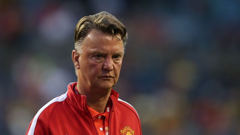 Louis van Gaal: Will rotate his squad for San Jose clash