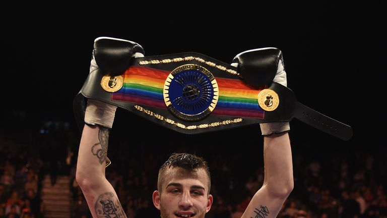 Sam Eggington: Looking forward to facing off with Glenn Foot