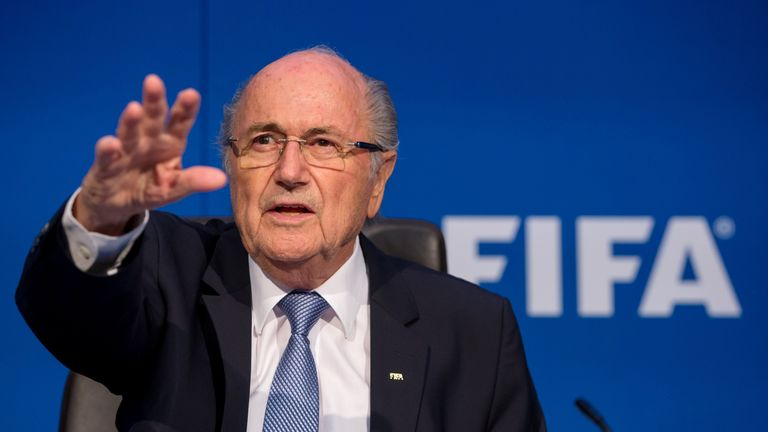 Sepp Blatter's work 'is a monument that stands for itself', says Sexwale