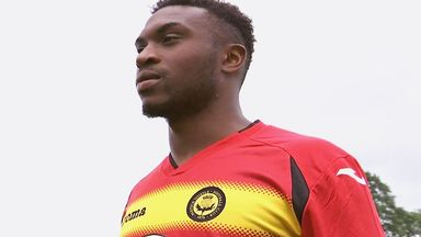 David Amoo, keen to get started with Partick Thistle