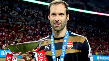 Petr Cech helped Arsenal win the pre-season Emirates Cup and is in line to face Chelsea in the Community Shield