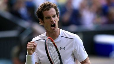 Andy Murray: Dramatic win on Centre Court