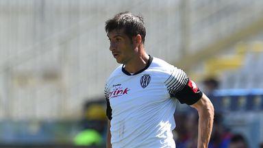 Franco Brienza in action for Cesena
