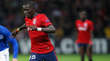 Idrissa Gueye of Lille could be heading to Aston Villa in a £9m deal