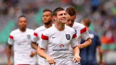 James Milner: Joined Liverpool with the hope of playing more games in central midfield