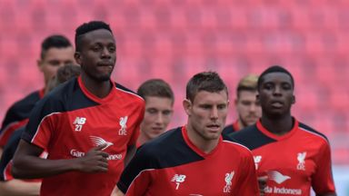 James Milner (c) is looking forward to a central role with Liverpool
